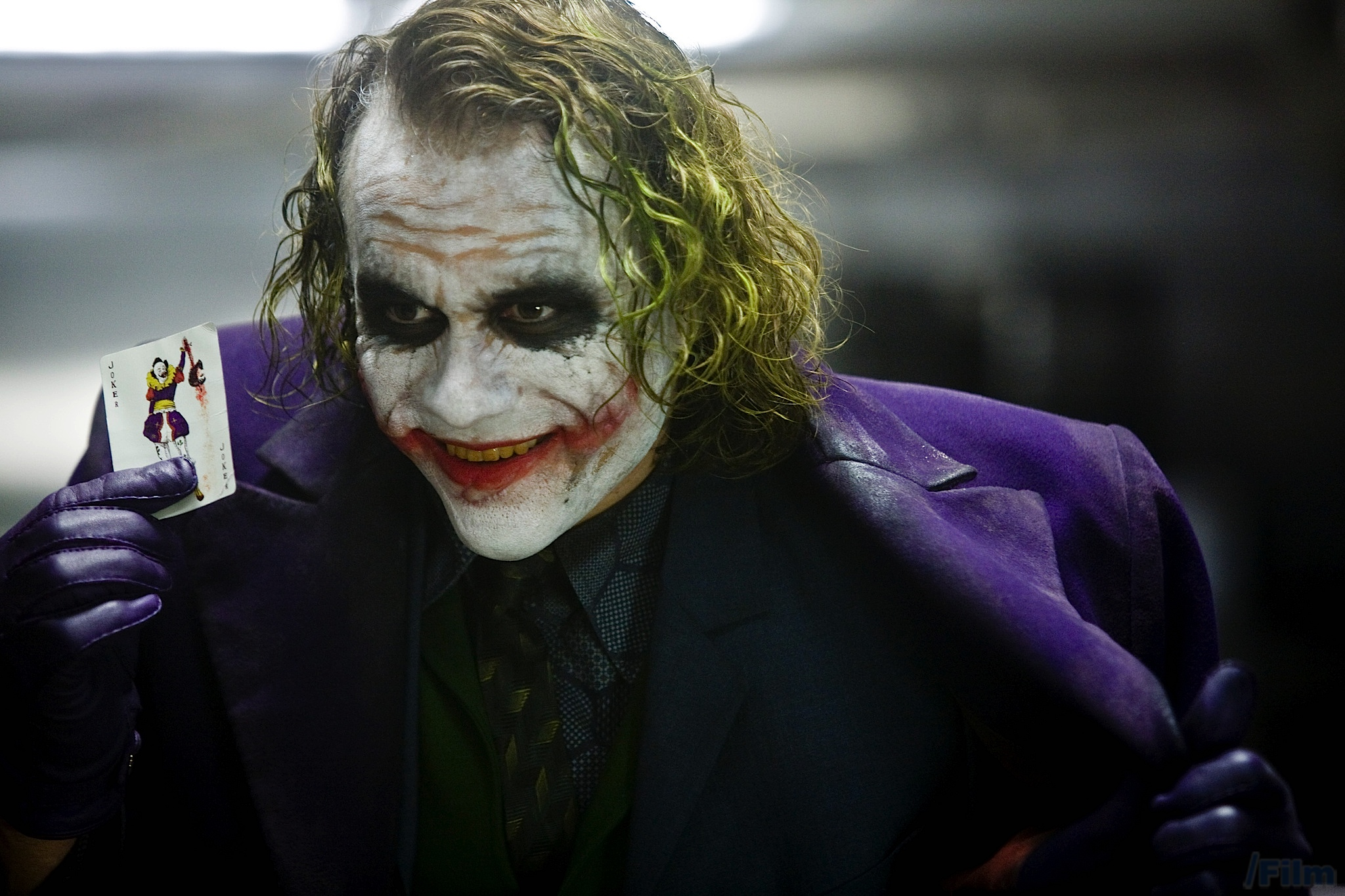 Heath Ledger.  Come back, Cesar Romero --  all is forgiven.
