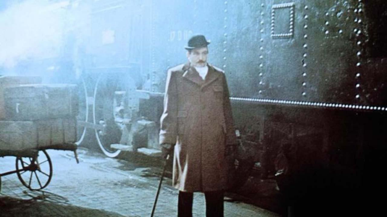 Albert Finney as Hercule Poirot in 'Murder on the Orient Express.'