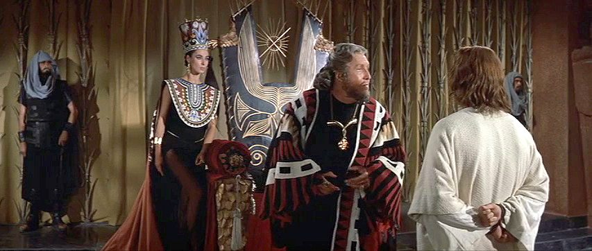 Rita Gam, Frank Thring, Jeffrey Hunter:  It Don't Mean a Thing If It Ain't Got Frank Thring.