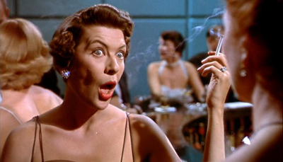 Jacqueline deWit: Snob, busybody, hypocrite, drunk, all of the above.