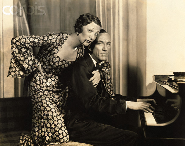 Gertrude Lawrence and Coward in their prime.  She was his favorite co-star.
