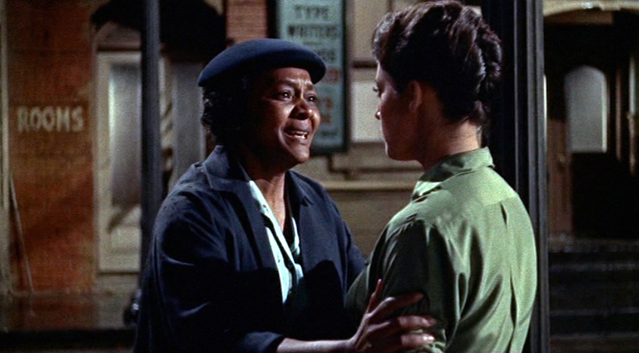 Juanita Moore gives her full attention.