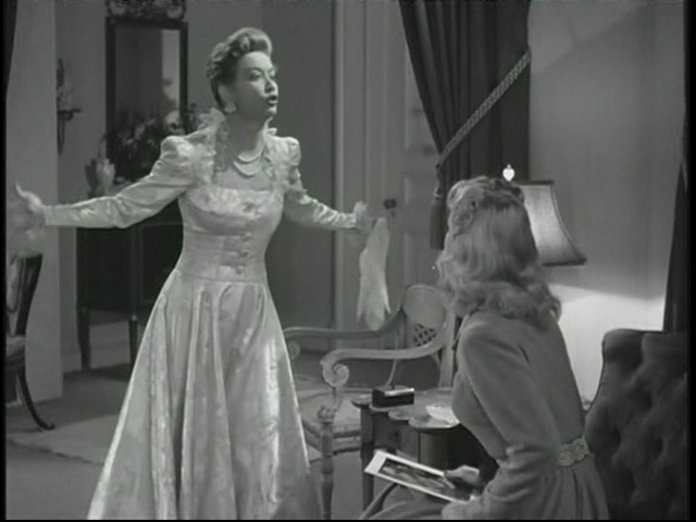 Oh, for Christ's sake, shut up!  Miriam Hopkins as Millie Drake