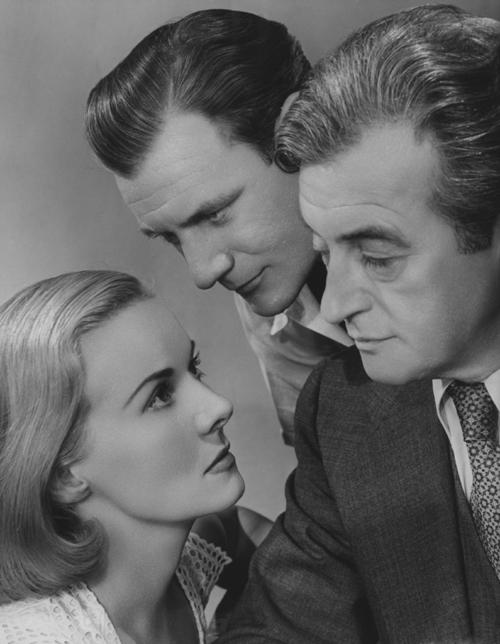 Ann Todd, Trevor Howard, Claude Rains:  The old triangle stuff.