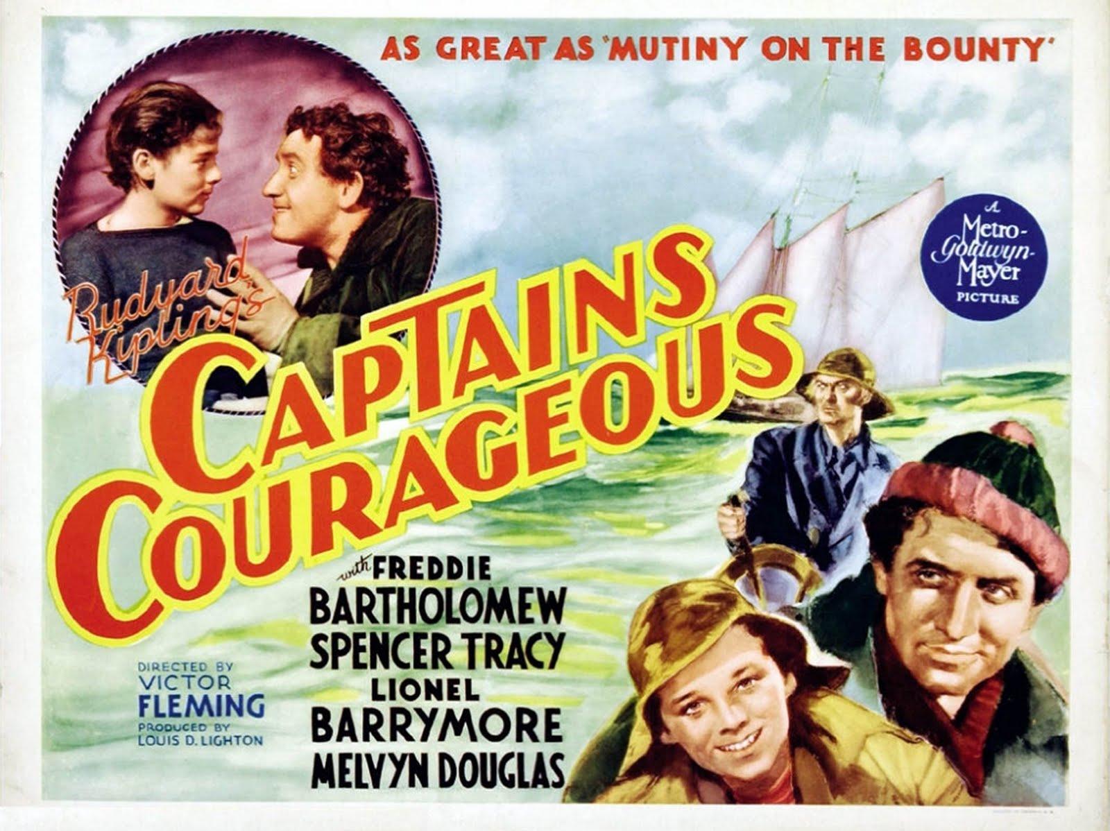 Captains Courageous:  Original Poster
