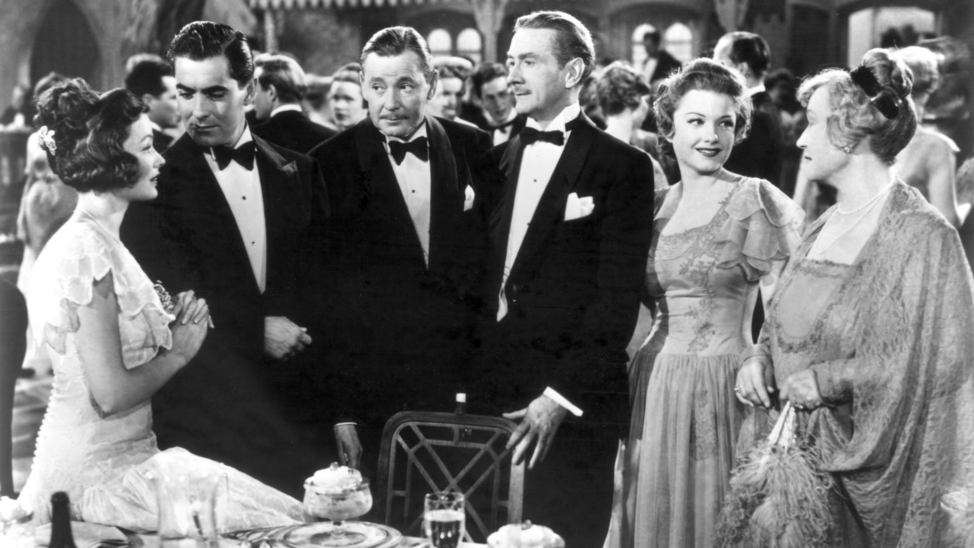 What a Swell Party It Is: Gene Tierney, Tyrone Power, Herbert Marshall, Clifton Webb, Anne Baxter, Lucile Watson