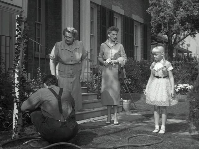 Round up the usual suspects.  The original Broadway cast:  Henry Jones, Evelyn Varden, Nancy Kelly, Patty McCormack.