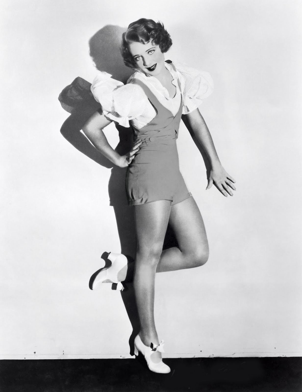 Ruby Keeler:  The buck stops here.