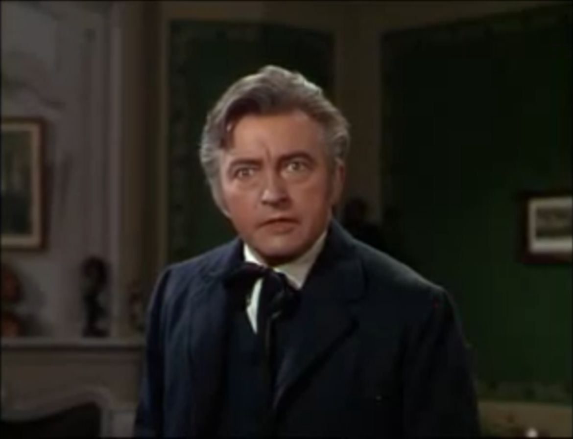 Claude Rains as Enrique Claudin: Painted like a whore.