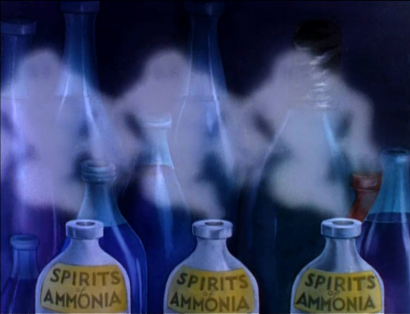 Spirits of Ammooohhhnia! Brrrrrrr! Things that creep upoooohhhn ya! Brrrrrr!