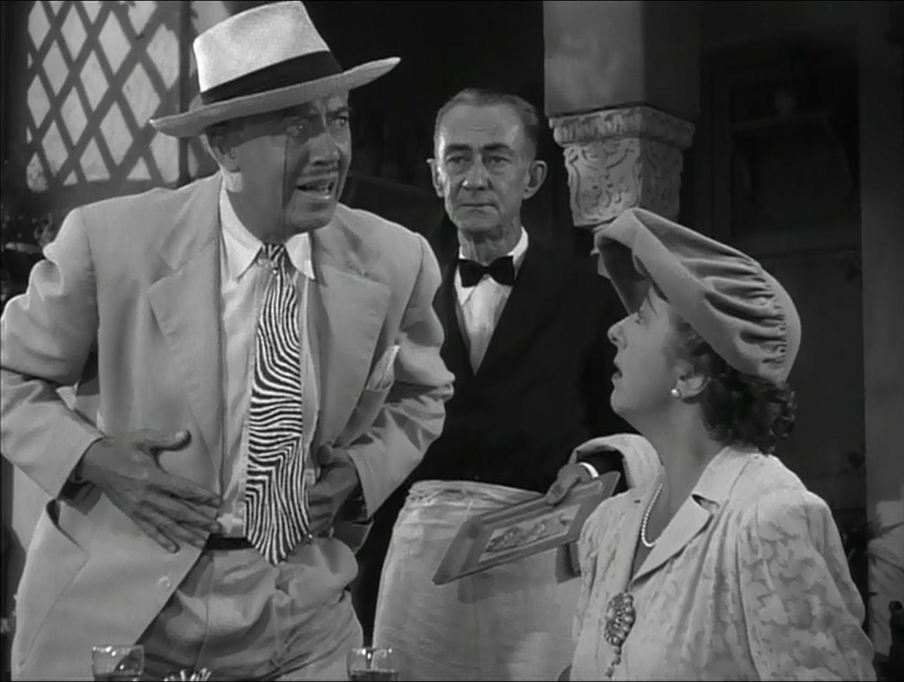 Gerald Oliver Smith, Jack Wise, Norma Varden:  They also serve who only stand and wait.