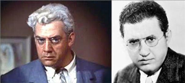 Raymond Burr, David Selznick: When 'Rear Window' was filmed, Selznick's hair was snow white.