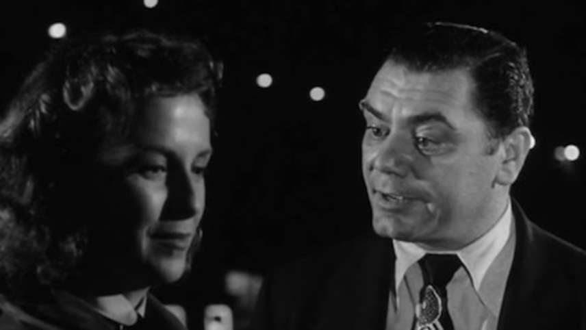 Betsy Blair, Ernest Borgnine: 'I'm with stupid.' 'I'm with ugly.'