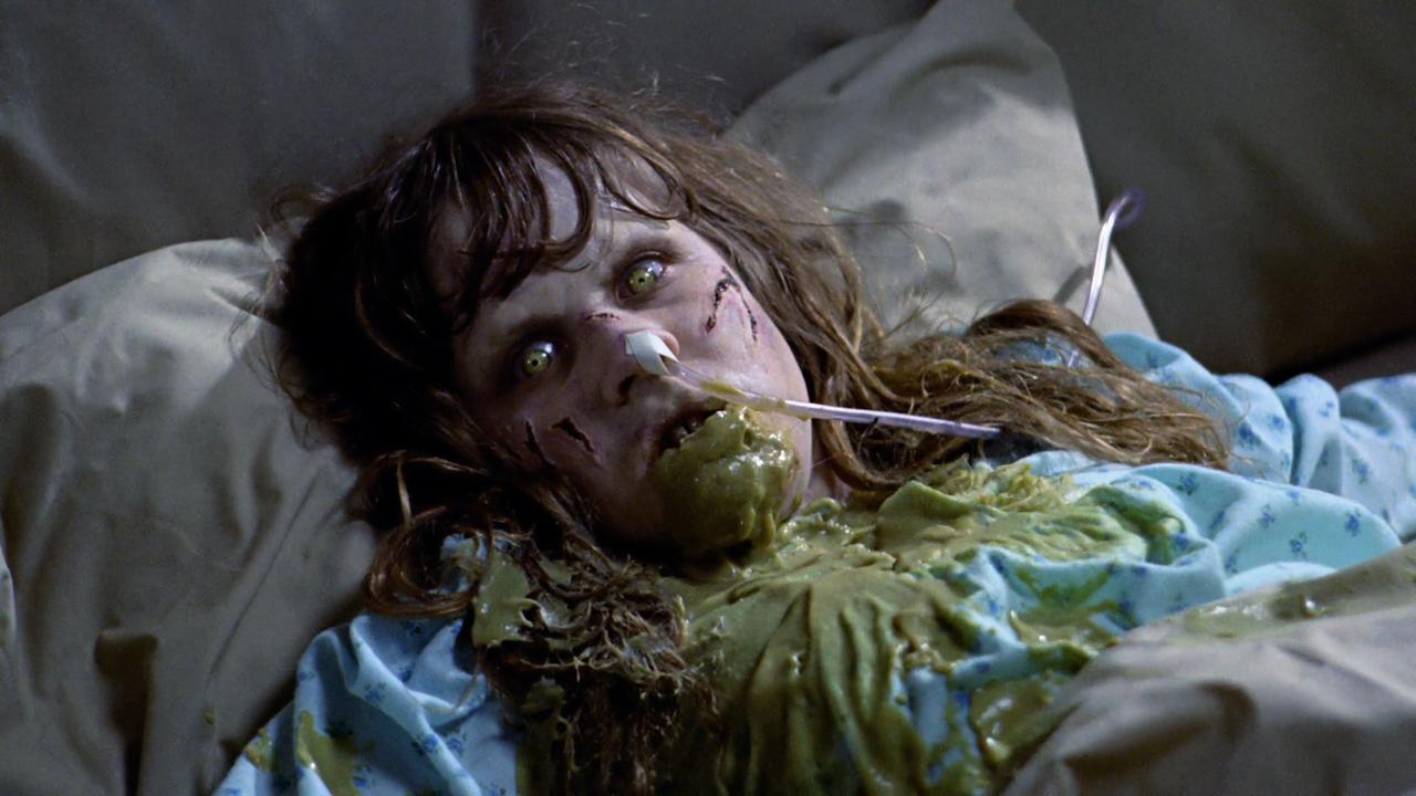Linda Blair: A real pea-souper.