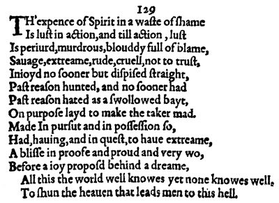 Sonnet129