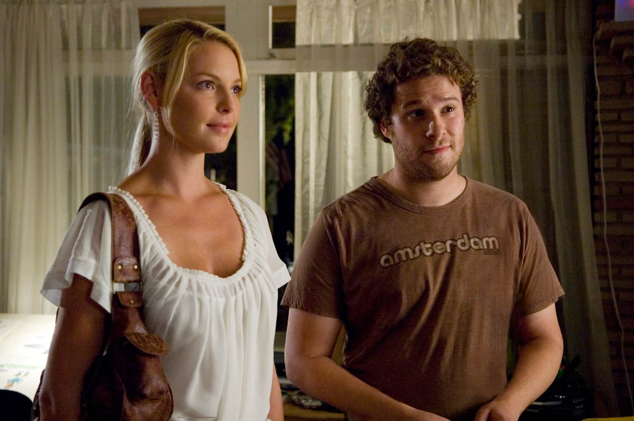 Katharine Heigl, Seth Rogen as fuck buddies -- dream on, fatty!