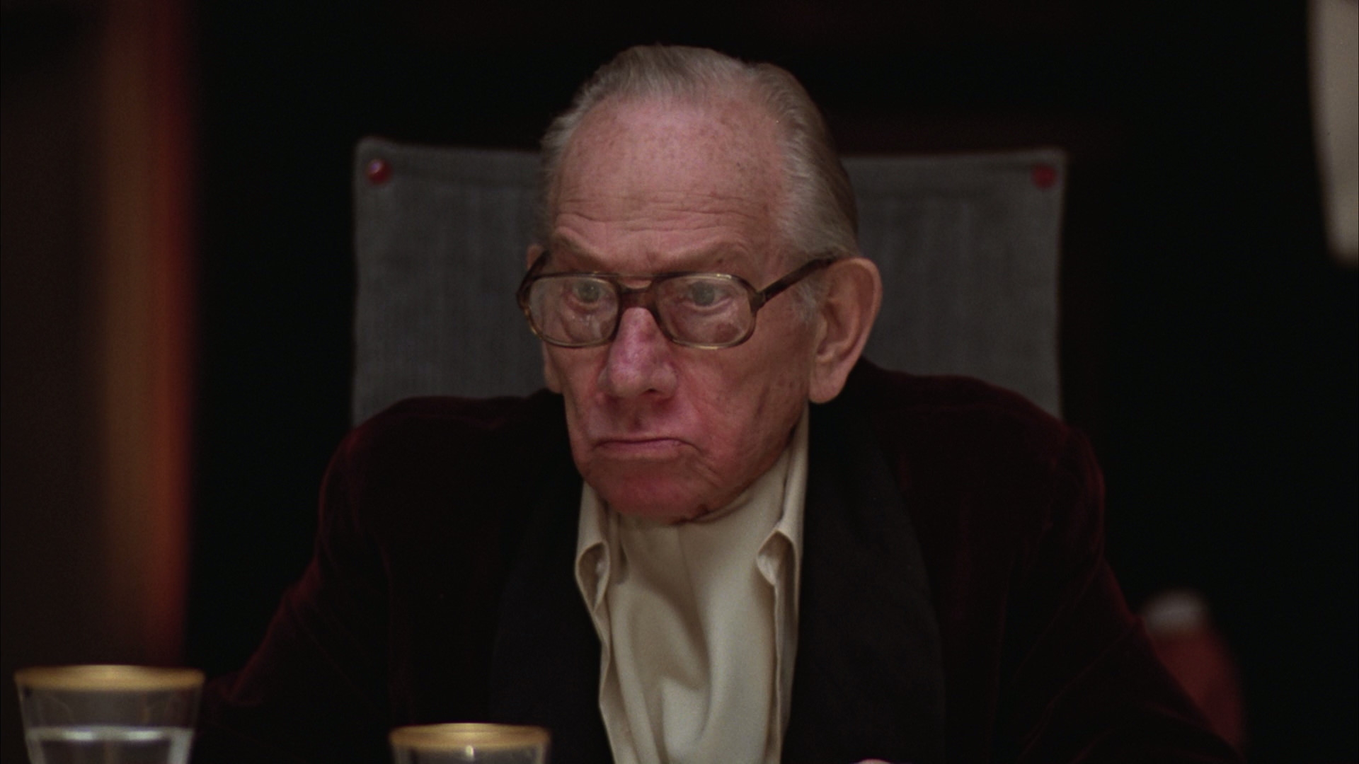 The grand old man in 'Being There.' Douglas' second Oscar win.